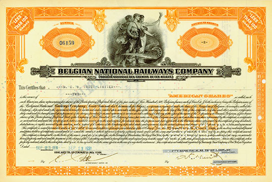 Belgian National Railways Company / Société Nationale des Chemins de Fer Belges