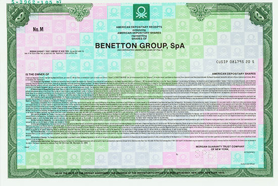 Benetton Group, SpA