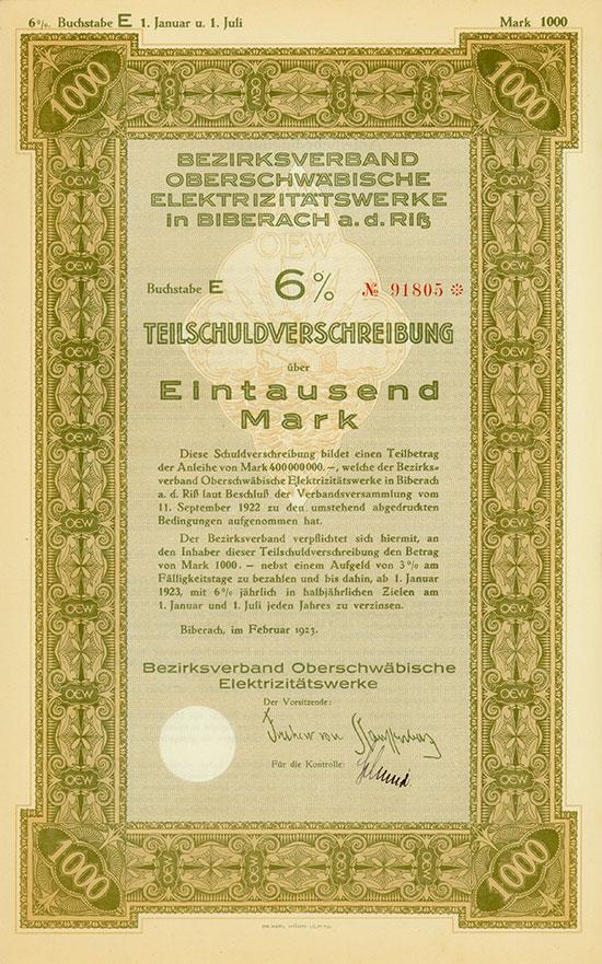 Bezirksverband Oberschwäbische Elektrizitätswerke