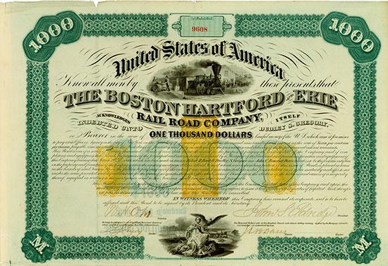 Boston Hartford and Erie Rail Road Company