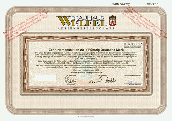 Brauhaus Wülfel AG
