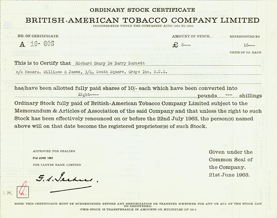 British-American Tobacco Company Limited