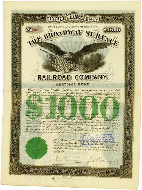 Broadway Surface Railroad Company