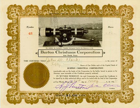 Burton Christmas Corporation