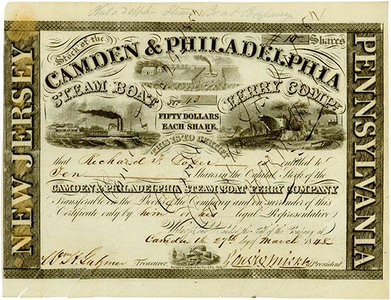 Camden & Philadelphia Steam Boat Ferry Company