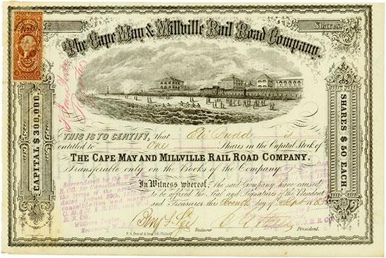 Cape May & Millville Rail Road Company