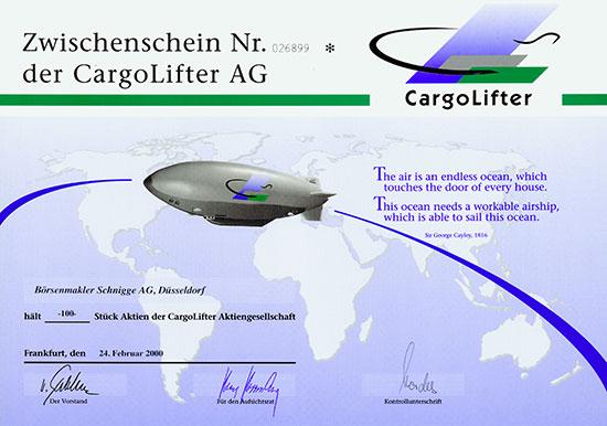 CargoLifter AG [2 Stück]