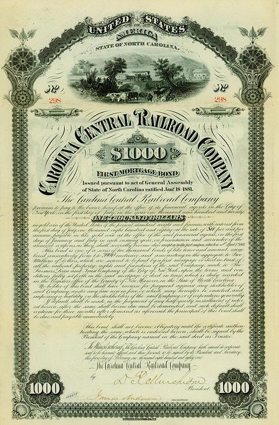 Carolina Central Railroad Company