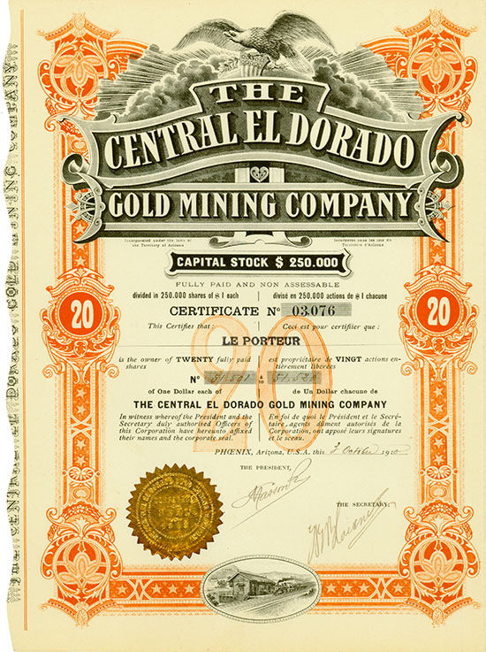 Central El Dorado Gold Mining Company