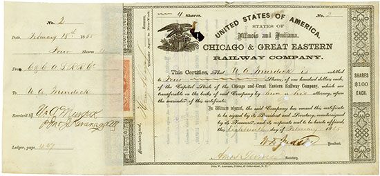 Chicago & Great Eastern Railway Company