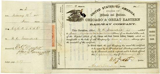 Chicago & Great Eastern Railway Company