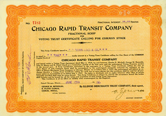Chicago Rapid Transit Company