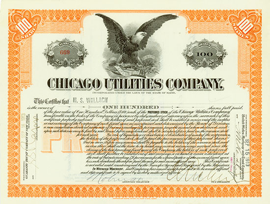Chicago Utilities Company