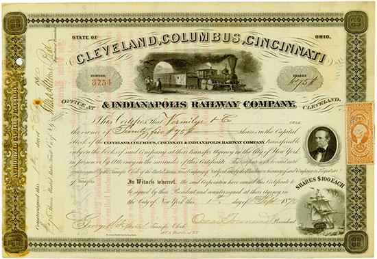 Cleveland, Columbus, Cincinnati & Indianapolis Railway Company