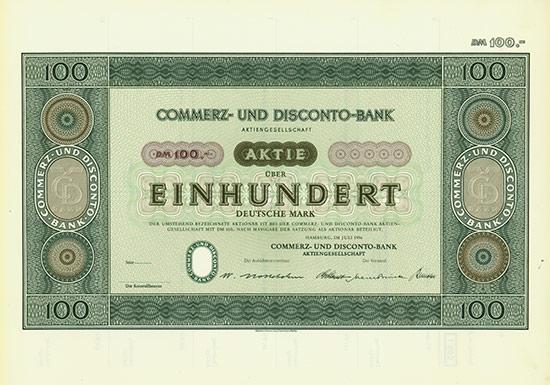 Commerz- und Disconto-Bank AG