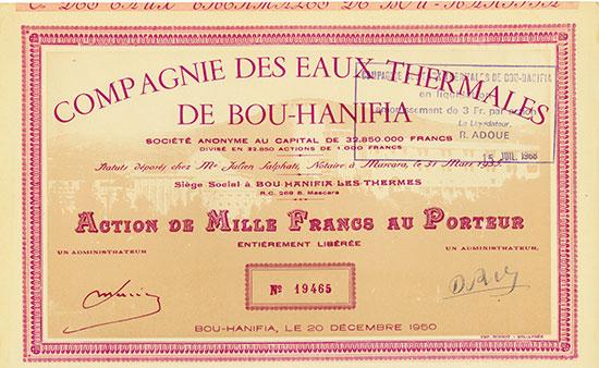 Compagnie des Eaux Thermales de Bou-Hanifia