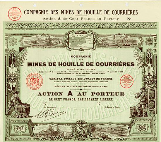 Compagnie des Mines de Houille de Courrières