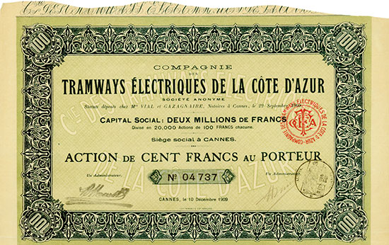 Compagnie des Tramways Électriques de la Côte d'Azur
