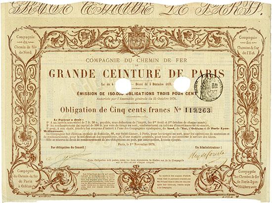 Compagnie du Chemin de Fer de Grande Ceinture de Paris