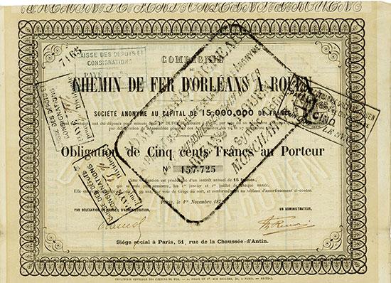 Compagnie du Chemin de fer d'Orléans à Rouen