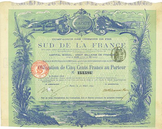 Compagnie du Chemin de Fer du Sud de la France