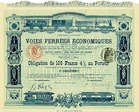 Compagnie Française des Voies Ferrées Economiques
