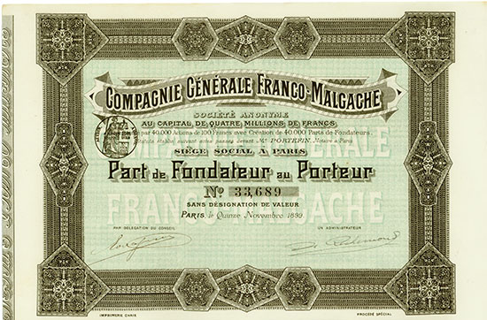 Compagnie Générale Franco-Malgache