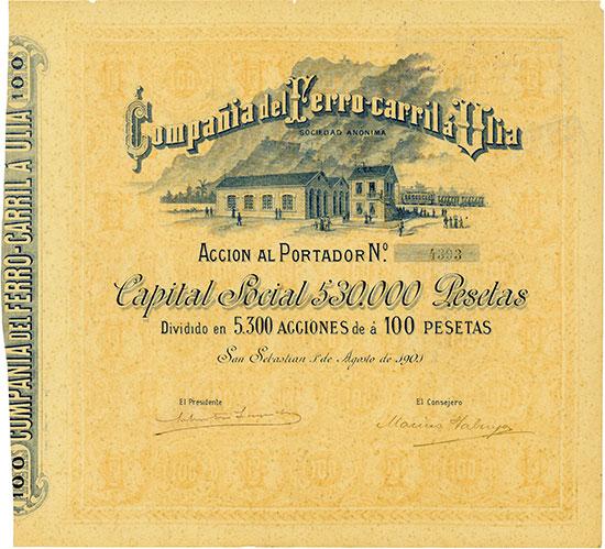 Companhia del Ferro-carril à Ulia