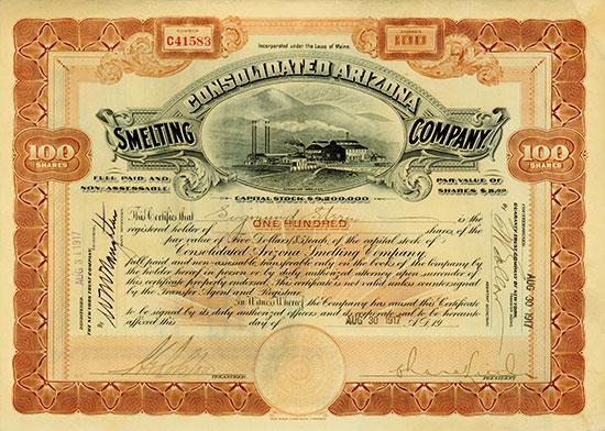 Consolidated Arizona Smelting Company