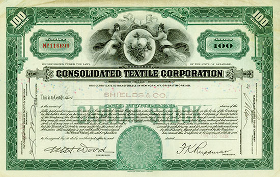 Consolidated Textile Corporation