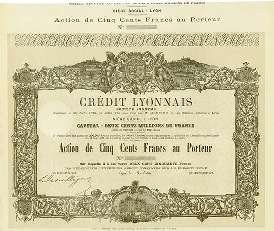 Crédit Lyonnais Société Anonyme