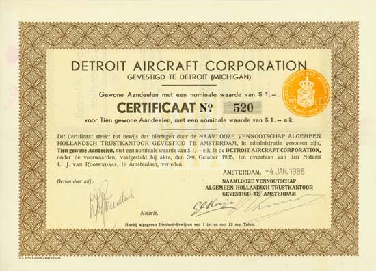 Detroit Aircraft Corporation