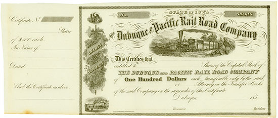 Dubuque and Pacific Rail Road Company