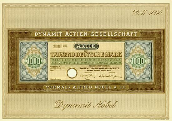 Dynamit-Actien-Gesellschaft vormals Alfred Nobel & Co.