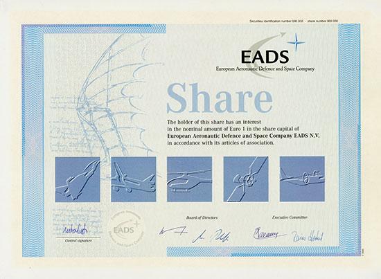 EADS European Aeronautic Defence and Space Co.
