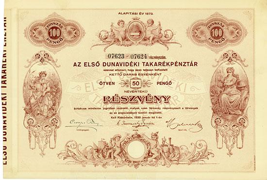 Elsö Dunavidéki Takarékpénztár (Erste Donaugegender Sparkassa)
