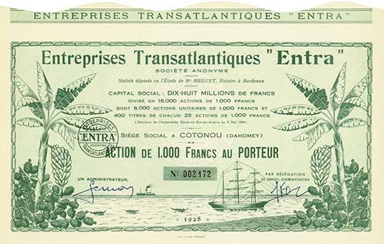 Entreprises Transatlantiques ''Entra''