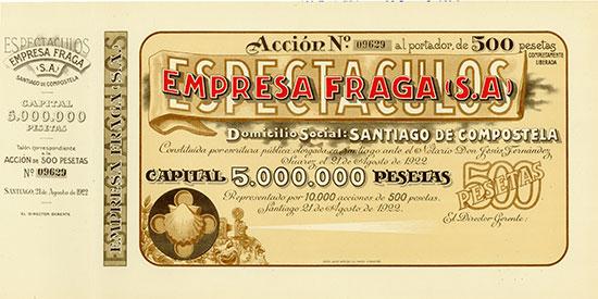 Espectaculos Empresa Fraga (S.A)