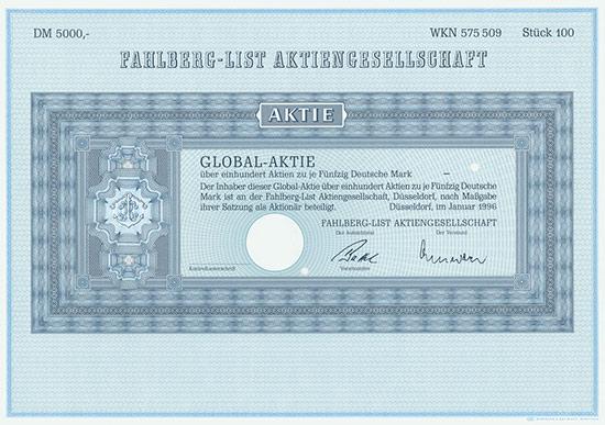 Fahlberg-List AG