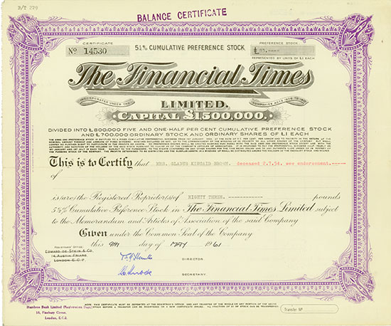Financial Times Limited