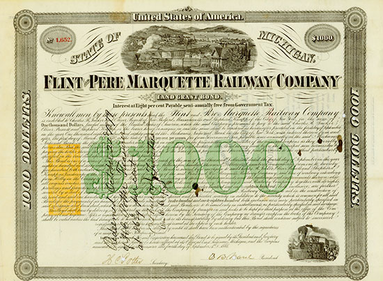 Flint and Pere Marquette Railway Company