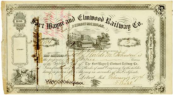 Fort Wayne and Elmwood Railway Co.