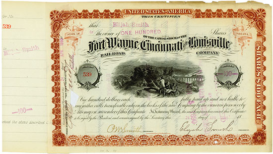 Fort Wayne, Cincinnati and Louisville Railroad Company
