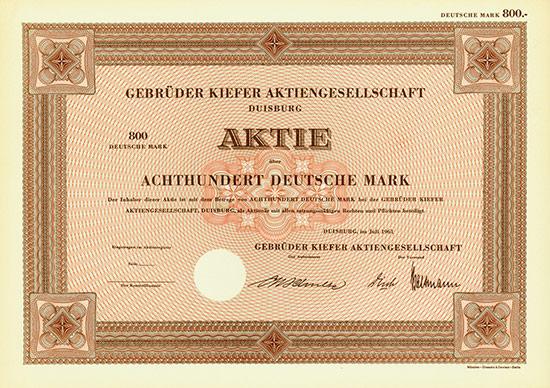 Gebrüder Kiefer AG