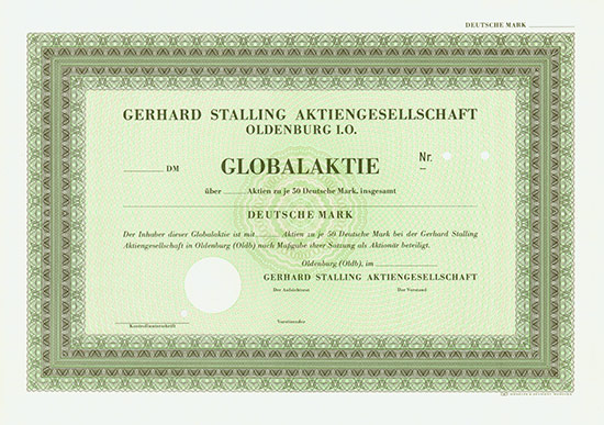 Gerhard Stalling AG