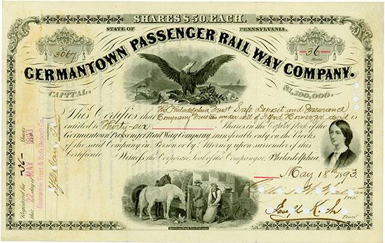 Germantown Passenger Rail Way Company