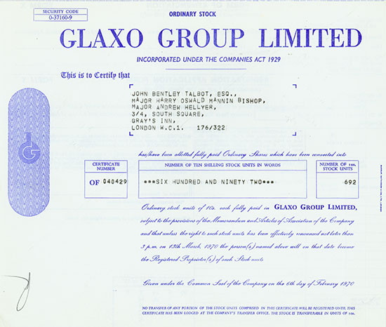 Glaxo Group Limited
