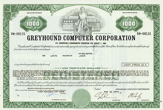 Greyhound Computer Corporation