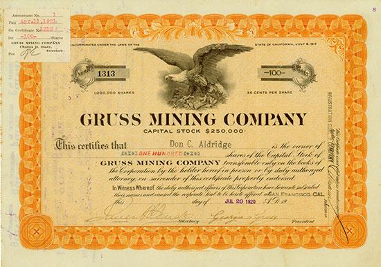 Gruss Mining Company