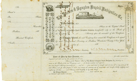 Harlem & Spuyten Duyvil Navigation Co.